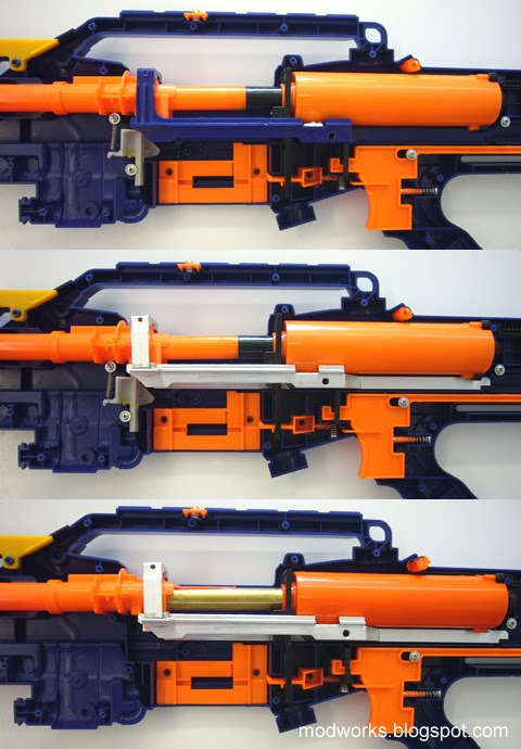 Mod Works: Custom Fabricated Nerf Longshot Aluminium Bolt