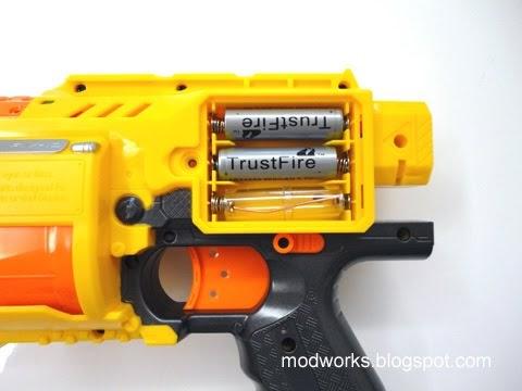 Mod Works Nerf Barricade Mod Guide