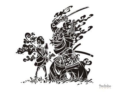 b550682f4dfcc História  O Céu e o inferno - O monge e o samurai