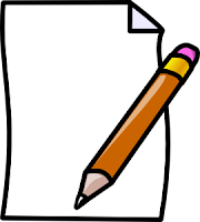 Clipart of pencil