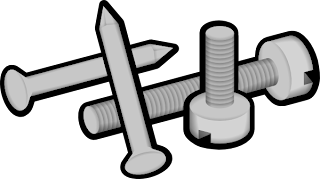 nail clipart to match hammer image