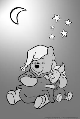 девочка, затерявшаяся в сети: winnie pooh раскраска