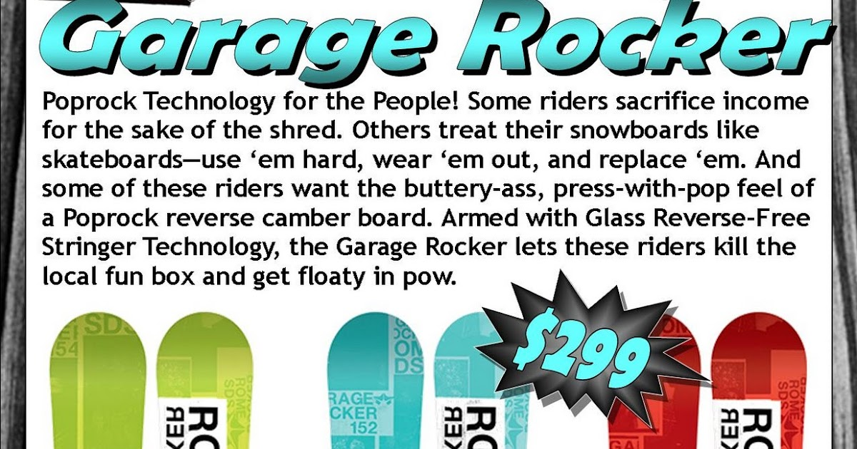 The Board Room Rome Garage Rocker Boards Are Here