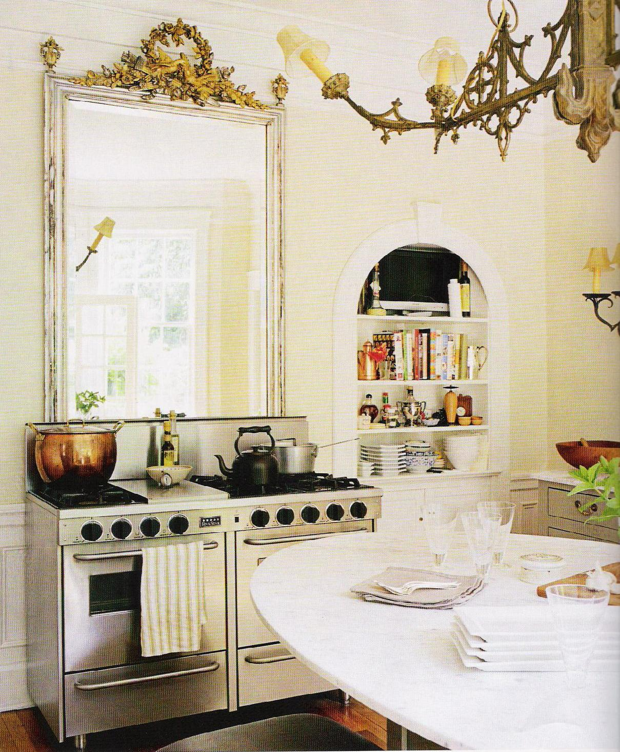 One Room Kitchen Interior Design In Mumbai: Decorology: Two Glamorous, Unique Spins On Classic Rooms