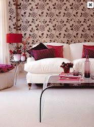 carpeted rooms living wall floral pamba boma palette velvet fresh flowers
