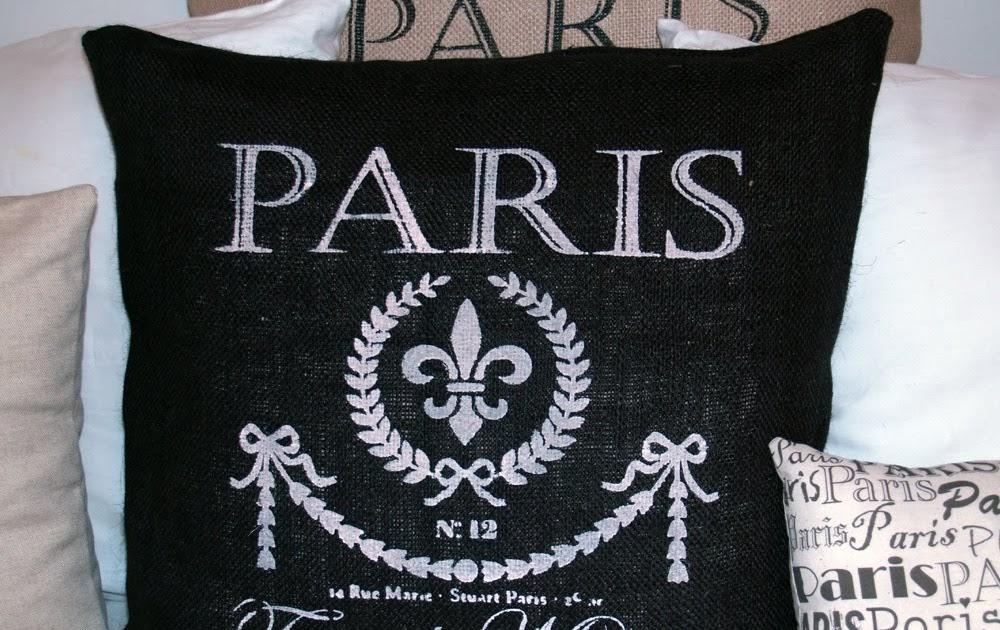 Royal Bebe Shoppe: French Market Black Burlap White