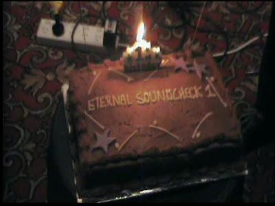 Eternal Soundcheck 1st Anniversary Cake