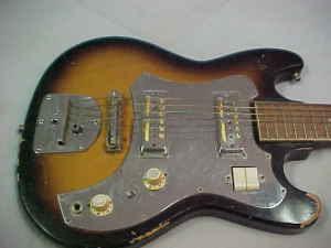Craigslist Vintage Guitar Hunt Decca Guitar W 2 Gold Foil Pups In