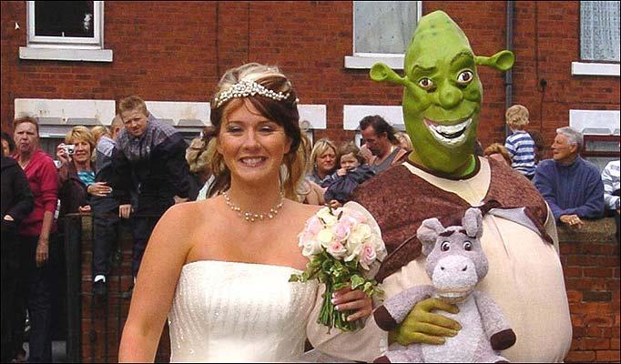 Shrek wedding: Shrek Wedding Pictures