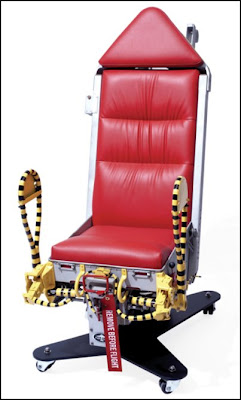 Sadly The Mechanism Required To Vertically Propel Your Boss From Seat Has Been Sensibly Removed But This Still Must Rank As One Of Coolest Office
