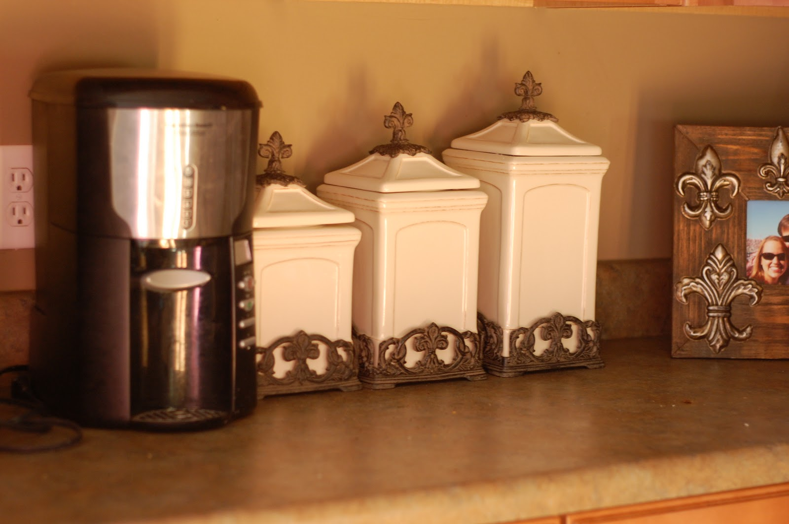 tuscan style kitchen canisters tuscan canister set 5401
