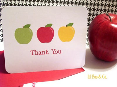 photo about Free Printable Thank You Cards for Teachers named 25 Astounding Academics Appreciation Playing cards with No cost Printables
