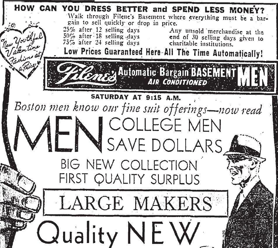 Shopping Days In Retro Boston: Valentine's Day 1960: Retro