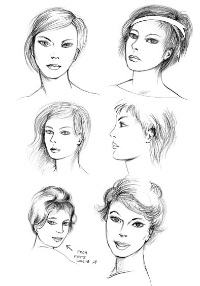 Art By-Products: More Fashion Faces
