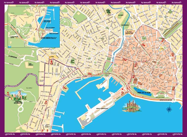palma kart Randi's tanker om reiser og hverdagen: City Sightseeing Palma de  palma kart