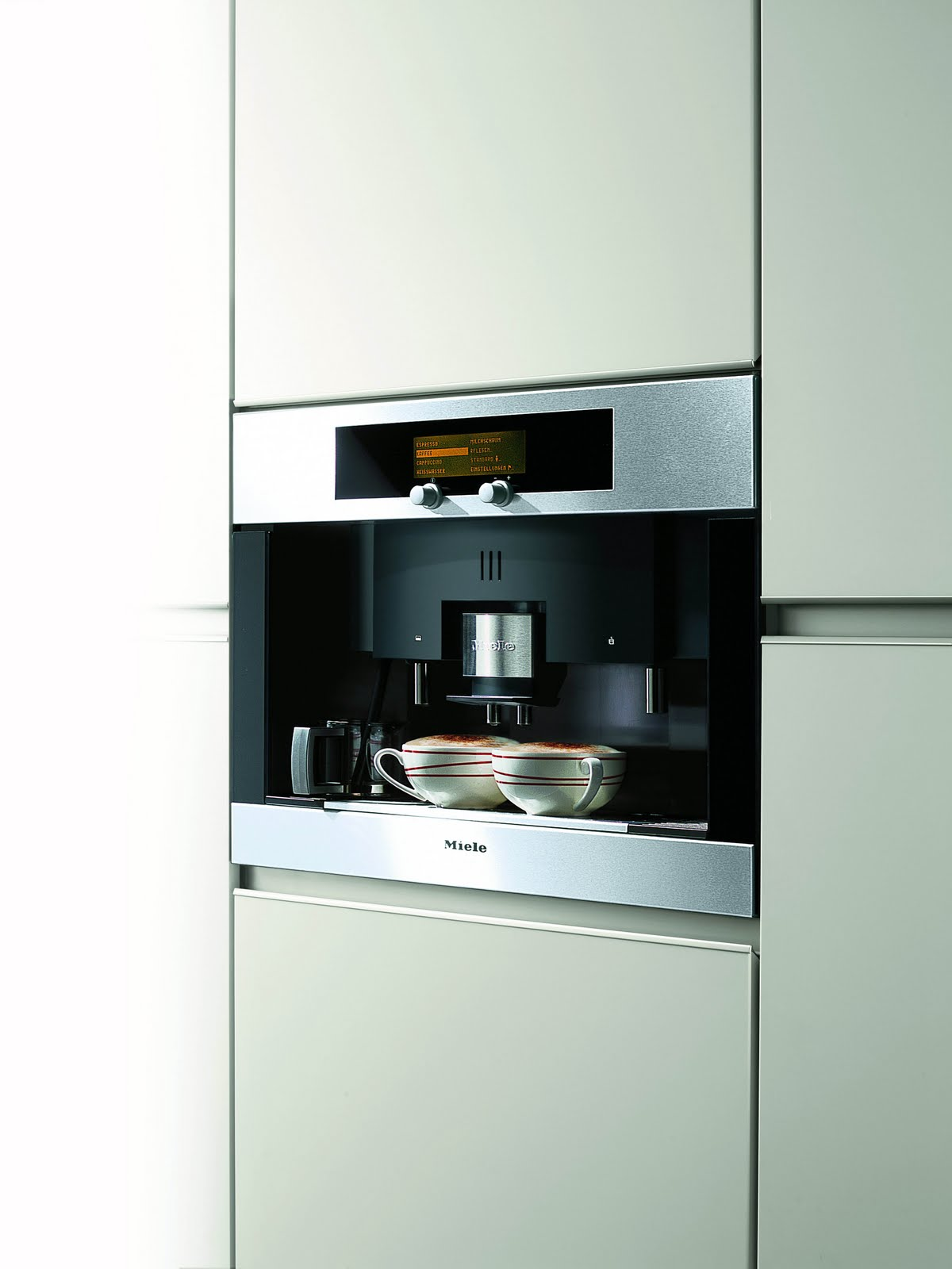 Built In Coffee Maker ~ Kitchen trends miele automatic coffee maker made by girl