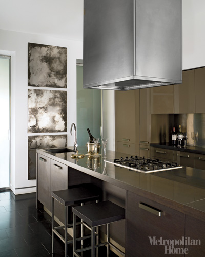 Brownstone Interior Design: Fantastik Interior Design: Elle Decor Modern Brownstone