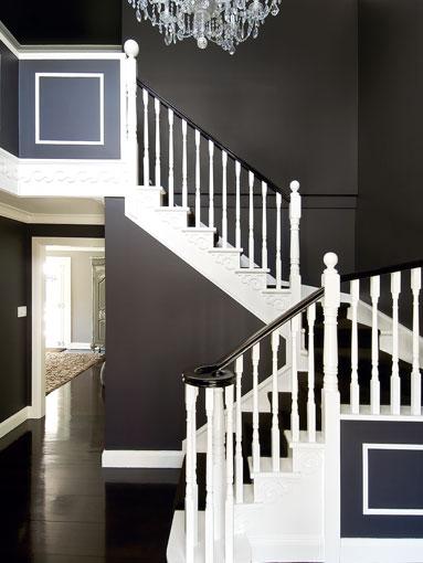 Lighting Basement Washroom Stairs: Jacinta Preston Design....