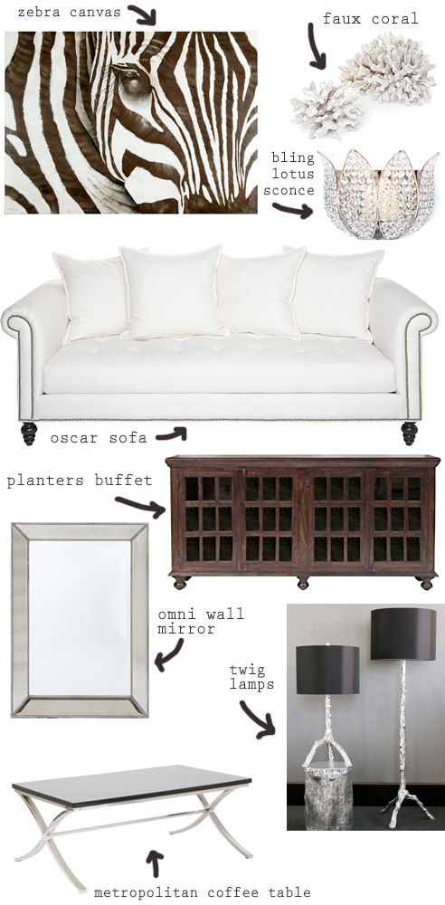 A Living Room By Zgallerie Via Made By Girl Made By