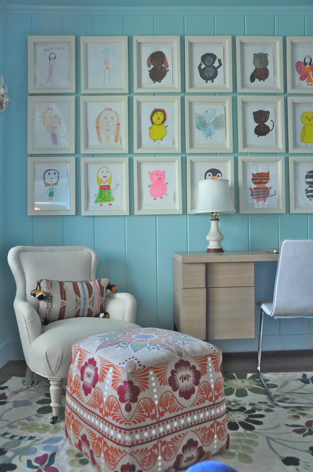 A 10 year old 39 s room by giannetti designs via made by for 6 year girl bedroom ideas