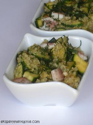 Quinoa z cukinią