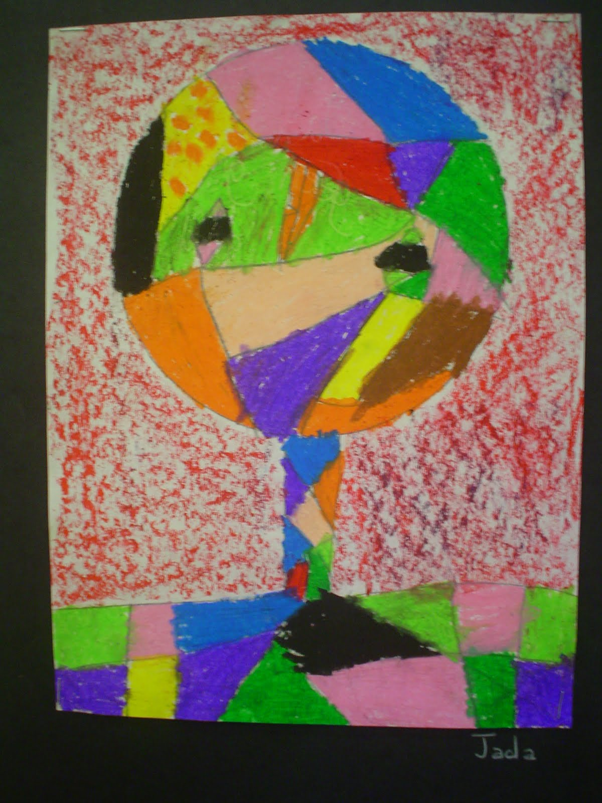 Lessons From The Art Room Second Graders Create Abstract Art
