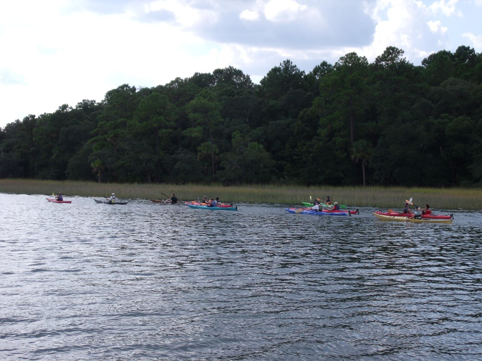 Wildcat Sailorgirl: Sailing Trips - Savannah to Brunswick cont
