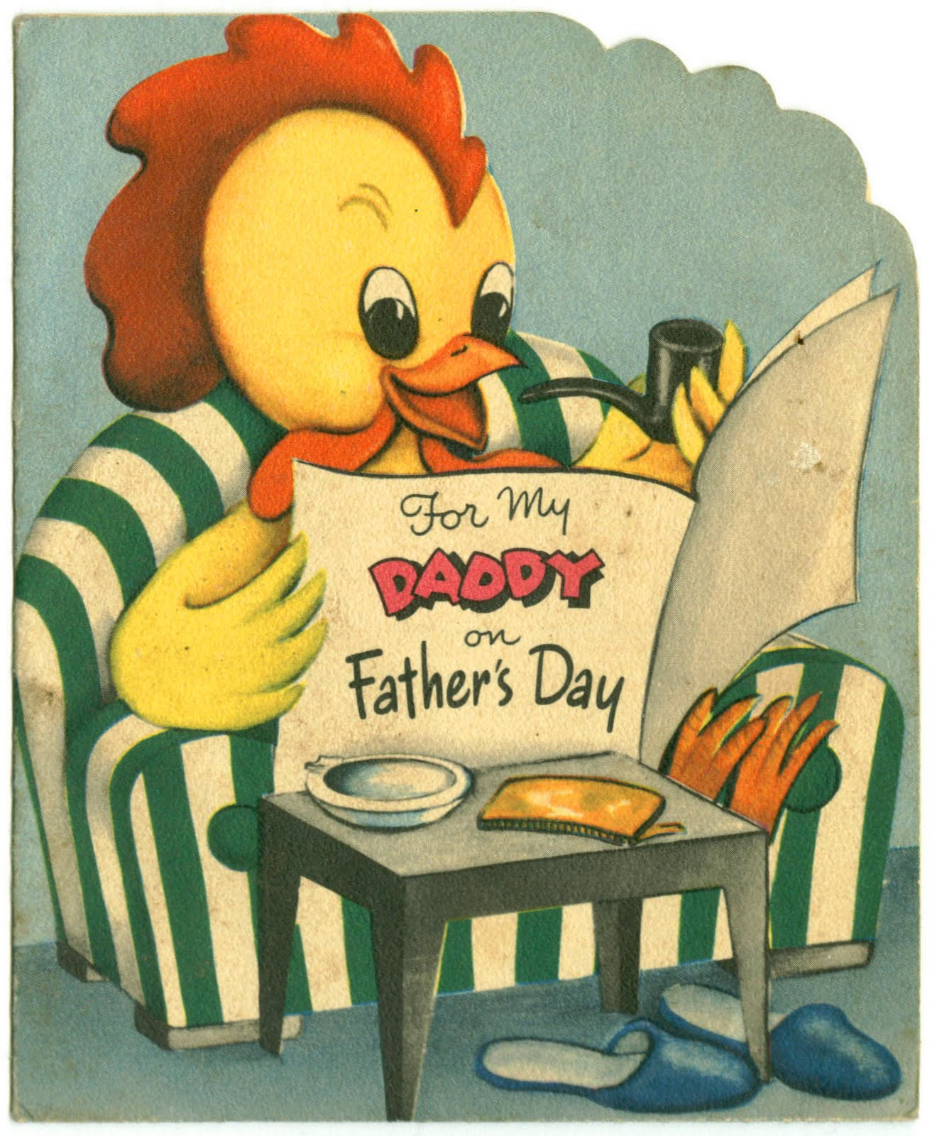 'For My Daddy on Father's Day' - date unknown