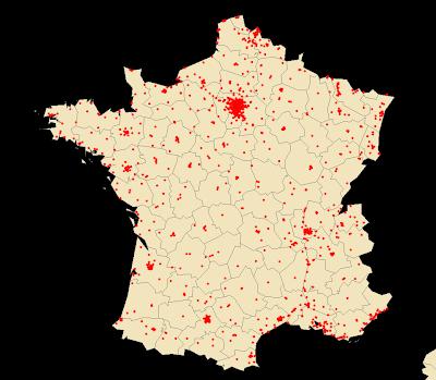 Carte Mcdonalds France.Les Mcdo En France Carte De Proximite Mise A Jour 14 11