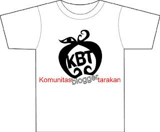 Segera Hadir : Kaos Komunitas Blogger Tarakan (KBT) - Ardiz Tarakan