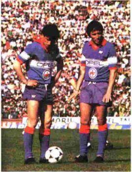 FRITZ THE FLOOD Grandi partite della Serie A  Fiorentina Juventus Campionato 1983 1984