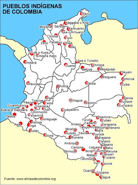 Sociedades indígenas de Colombia ~ La Verdad,El Tiempo y la Historia