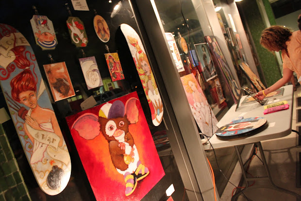Jacksonville Art Walk Report. Toys & Stormtroopers