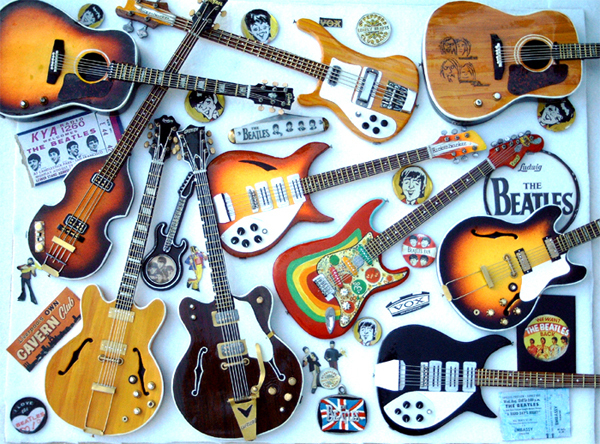 love in black and white the beatles beatle guitars. Black Bedroom Furniture Sets. Home Design Ideas