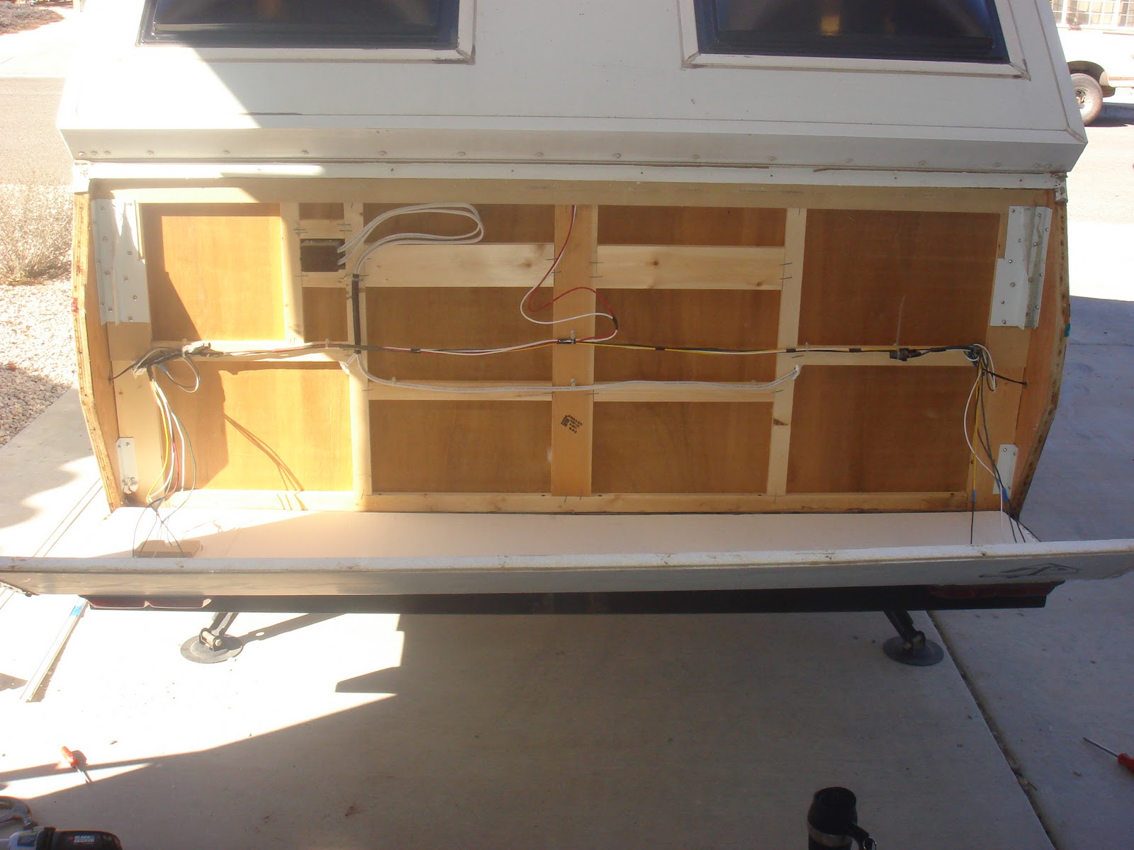 My 2001 Chalet Camper Adventures Floor Replacement Day One