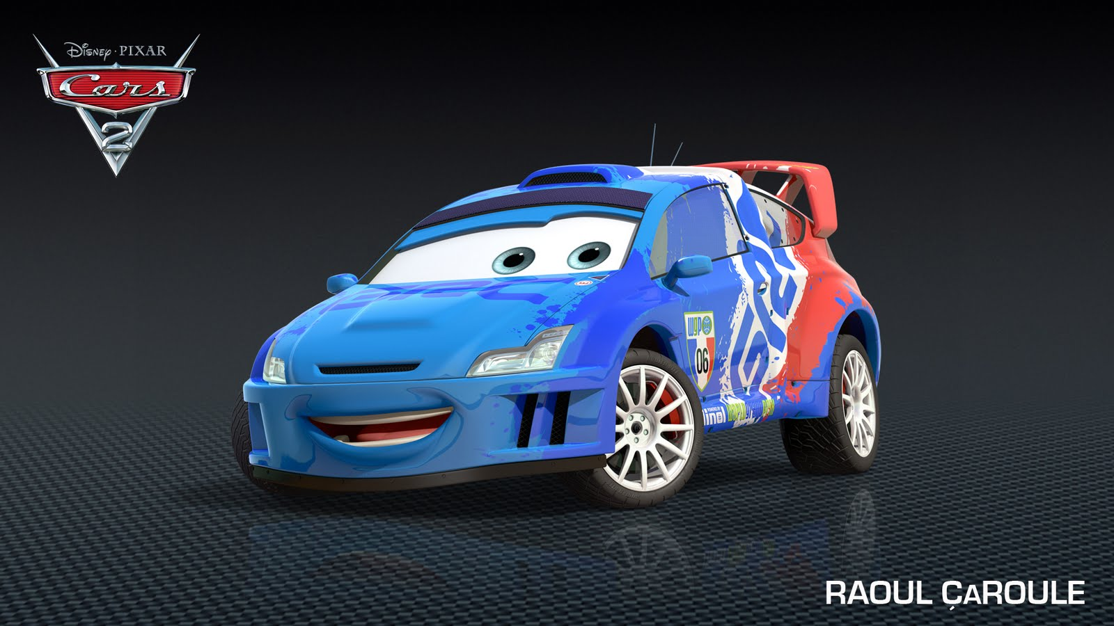 access pixar new cars 2 character raoul caroule. Black Bedroom Furniture Sets. Home Design Ideas