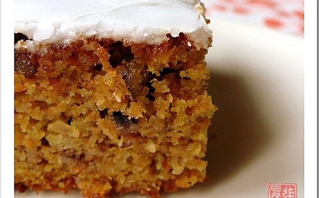 Carrot Cake Aux Lardons