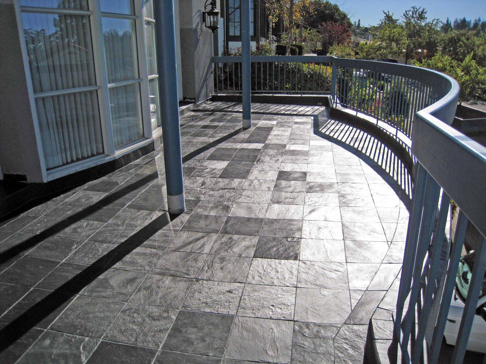 Porcelain Stone Tile On Outdoor Decks Over Living E White Paper