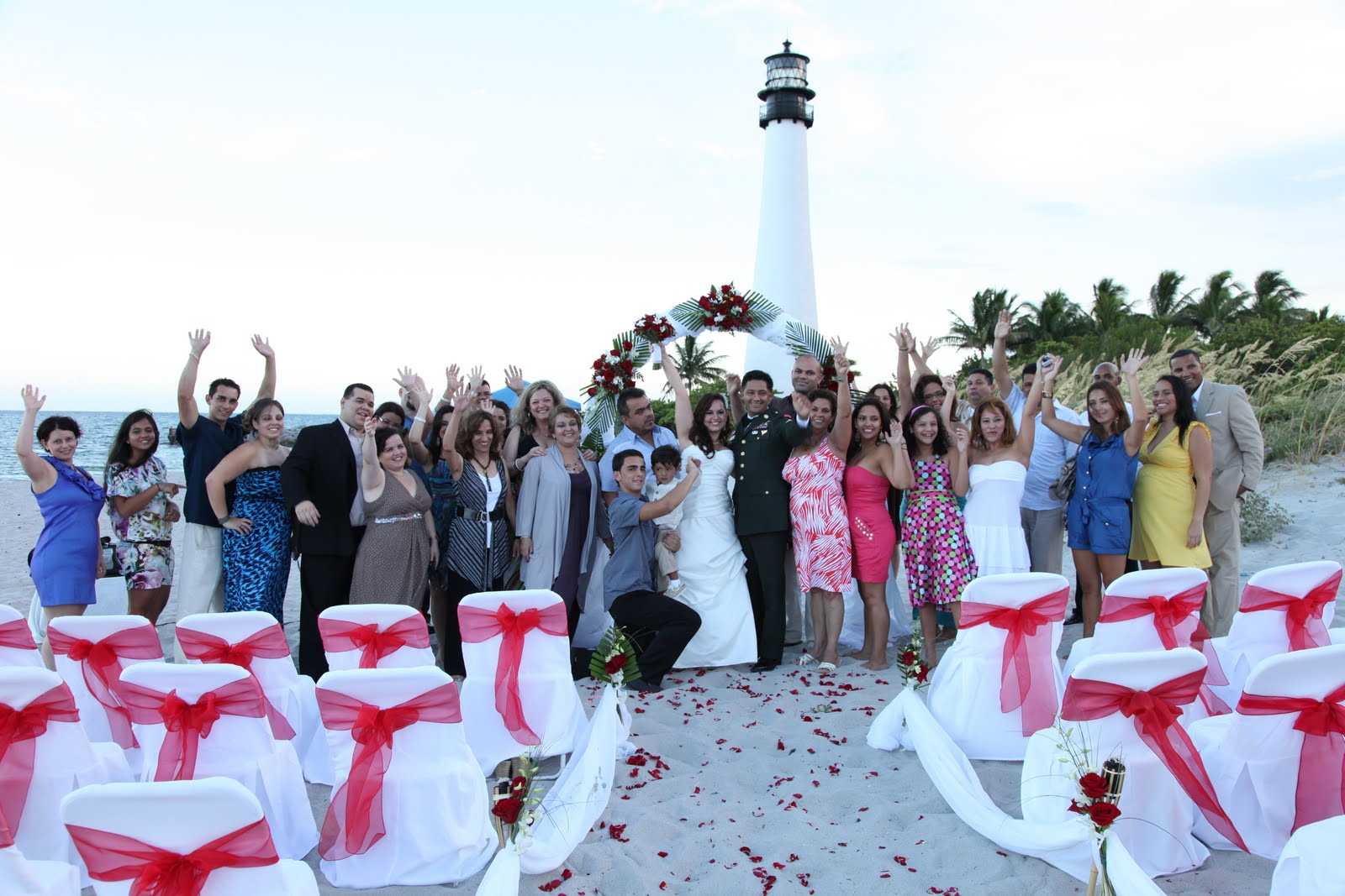Renewing Your Vows Venue West Orange: Elegant Beach Weddings: Vow Renewal: Veronica And Hermin's