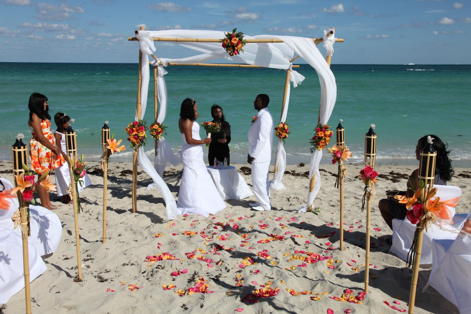 Real Wedding Will And Shawntay S Miami Beach