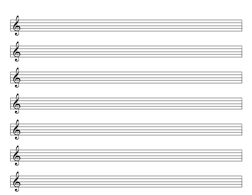 blank bass clef staff - photo #22