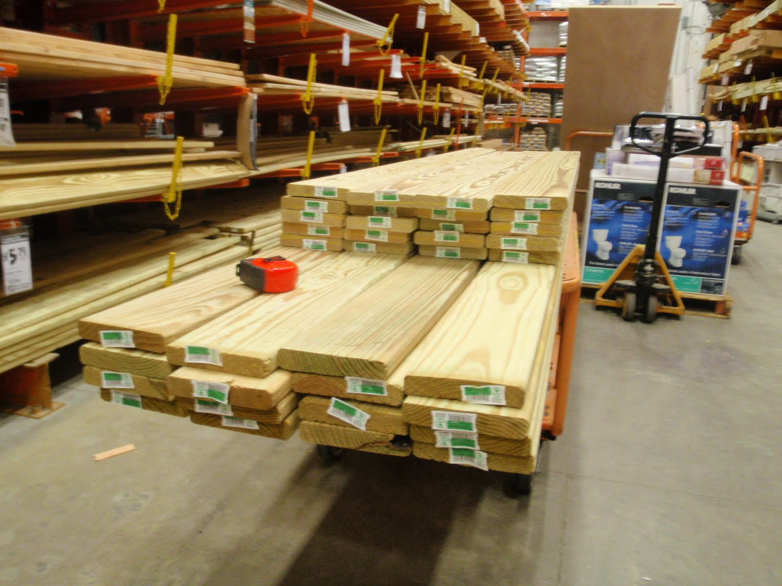 Home Depot sued for advertising 3.5 x 3.5 lumber as 4 x 4