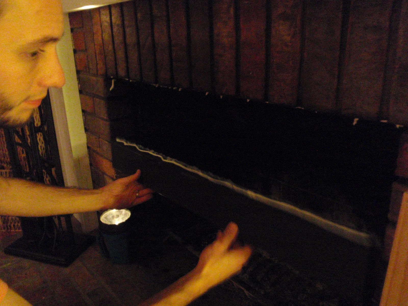 Hammers and High Heels: DIY Smoke Guard for Our Fireplace
