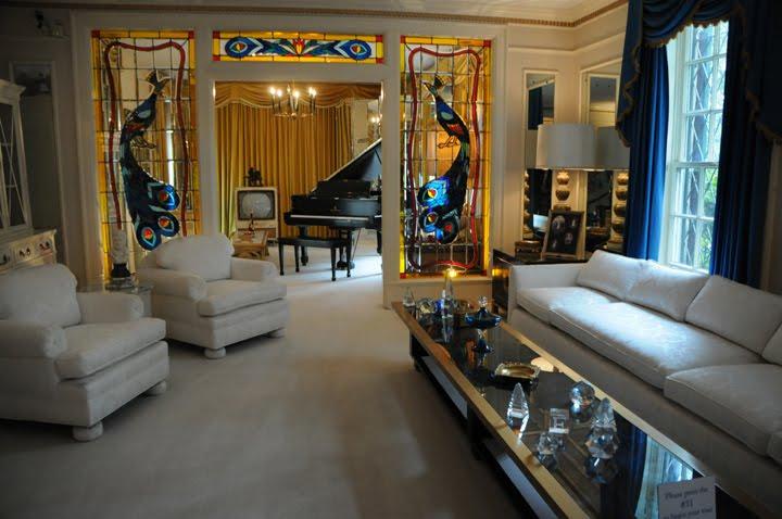 Photography by Pearl: Inside Graceland: Lv. Rm; Bedrm; Din. Rm