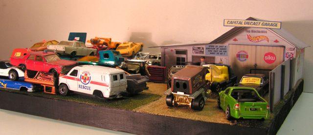 Capital diecast garage diecast wrecking yard diorama - Nearest garage to my current location ...