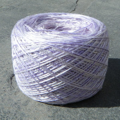 Lavender Mists Silk Yarn
