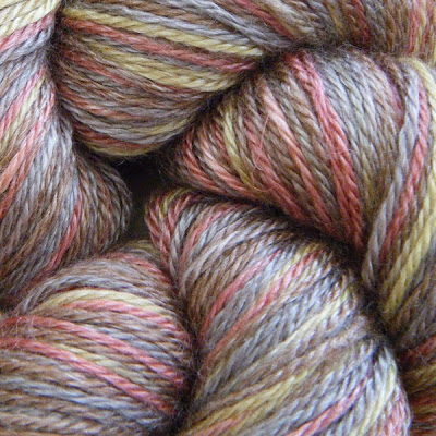 Manyana in 'Autumn' by Wild Fire Fibres