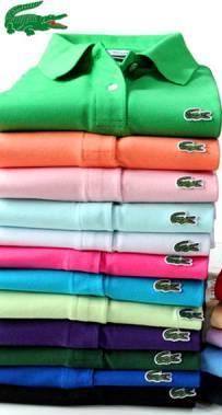 Kit c 4 Camisas Gola Polo Lacoste Feminina d340d04cf9
