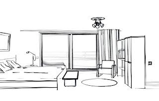 harmonie et habitat placement du mobilier lit bureau etc. Black Bedroom Furniture Sets. Home Design Ideas