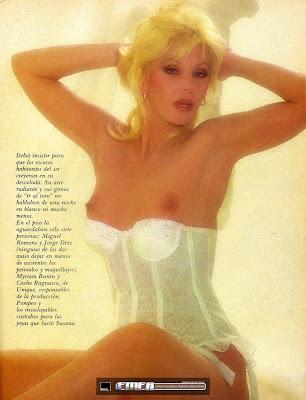 Quemá Esa Foto At Quemaesafoto Susana Gimenez Desnuda En Playboy 1985